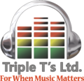 Triple T's DJ / Entertainment Logo